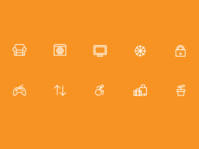 hihostels app icons