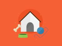 Pet-app Signup Illustration