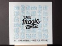 Polaroid. Letterpress.