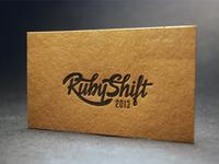 RubyShift conference