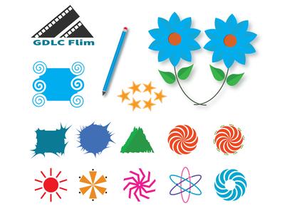 Iconic logo design with illustrator using rotate tools