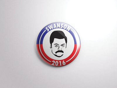 Swanson 2016 pin nick offerman offerman parks and rec ron swanson swanson ron