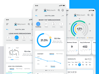 Fitness App chart flat type data vector icon app mobile widget simple clean dashboard design ux ui