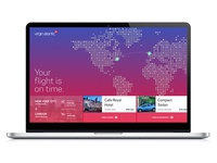 Virgin Atlantic Travel Booking Concept
