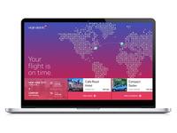 Virgin Atlantic Travel Booking Concept
