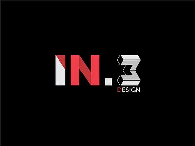 Logo In.3 doze logomarca marca branding brand logomark mark logotipo logotype logo paulovitordesigner