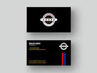 Cartão de visitas - Coupé Barbershop