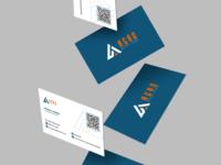 Cartão de visitas - Ação Logística e Treinamento.