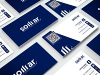 Cartão de visitas desenvolvido para Somar