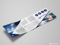 Folder triplo desenvolvido para Somar.