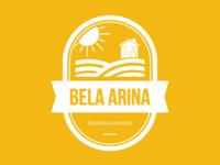 Logotipo desenvolvido para Bela Arina Pousada e Hostel - SP.