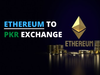 Instant Ethereum To PKR Crypto Exchange Platform graphic design animation branding