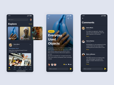 Daily 003 (photography and articles) uiuxdesign uiux ux  ui ui ux