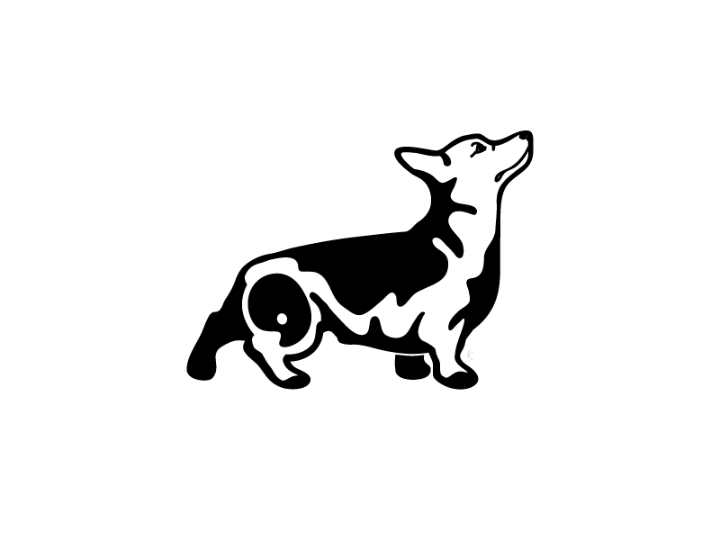 Personal Branding - Corgi vector grumpycorgi art design painting dog corgi