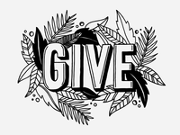 Give hand lettering lettering hand valuable time presence give