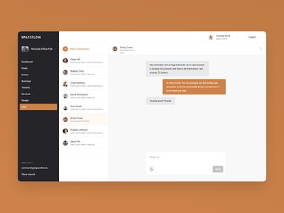Admin - Spaceflow dashboard web chat graphs kanban calender admin dashboard admin
