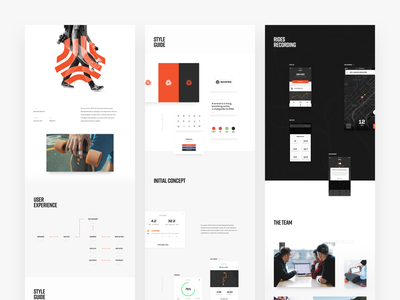 Boosted Boards Case Study boosted boards boosted behance project behance layout typography design minimal strv ux clean new app ios ui