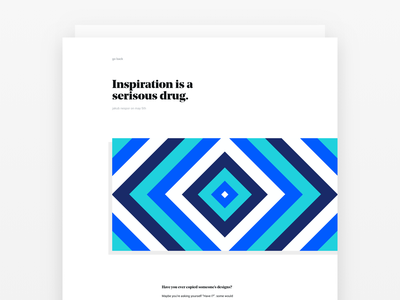 Blog Post Designs layout minimal clean illustration inspiration web article typography layouts