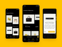 Monocle 24 - Curator's Cut ecommerce player podcast press offset showcase product strv layout typography minimal clean app ios ui