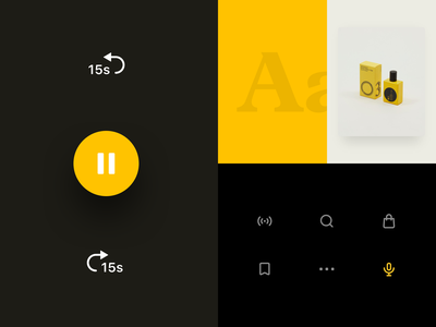 Monocle 24 - Visual Style strv ui minimal player ui ios app player component layout typography style visual system podcast ecommerce