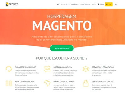 Banner Magento - Secnet Hosting Provider