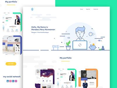 Portfolio Web Design design web