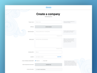 Project D - Create a company