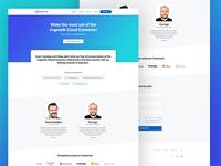 Cognetik - Landingpage for webinar