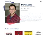 Designsnippet 2018 profile