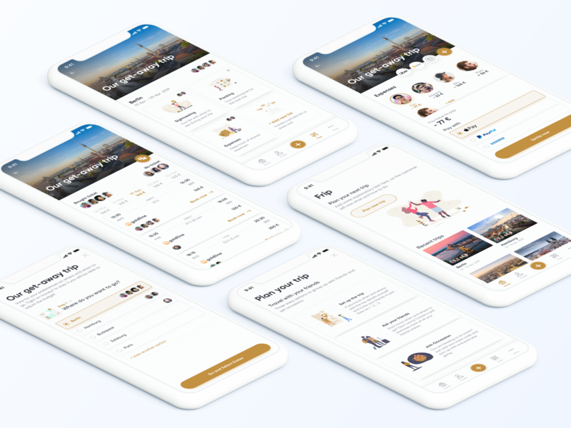 Travel app concept mobile app mobile app user experience ux ui user interface