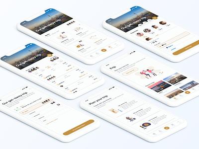 Travel app concept mobile app mobile app user experience ux ui user interface
