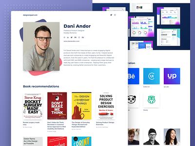 designsnippet.com resources designer interface user experience ux design ui user interface web design landing page website homepage