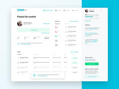 Dashboard - Applicants user experience app dashboard web design user interface ux ui