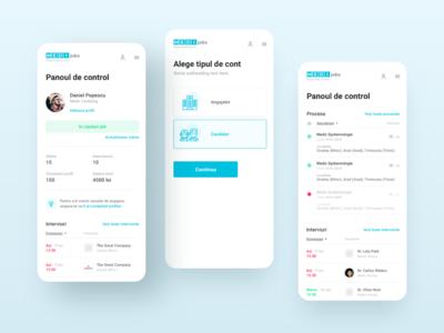 MEDIJobs - Mobile designs