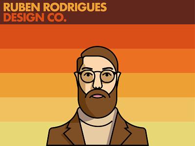 Rúben Rodrigues Design Co illustration design flat