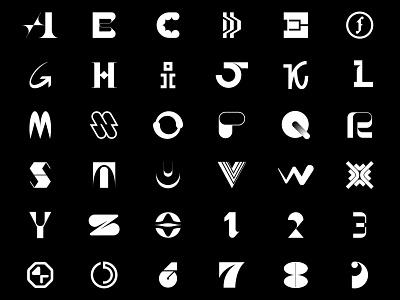 36 Days of Type 2021 typogaphy 36daysoftype 36daysoftype08 letter concept logo