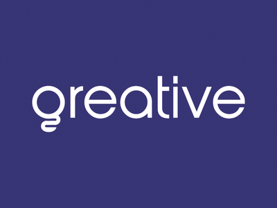 Greative Logo agency creativity creative logotype bulb light bulb logo
