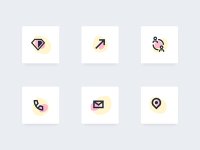 Icon customization in Saeloun interface illustraion custom developer ruby saeloun icons minimal vector vlockn web typography app ux design ui