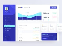 Invoice page for fintech app