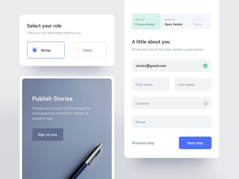 Editor Onboarding Components