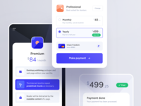 Components Layout payment credit card checkout pricing component ux ui mobile