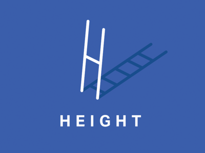 H for height h illustration height