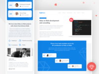 Ruby on Rails Consulting Page