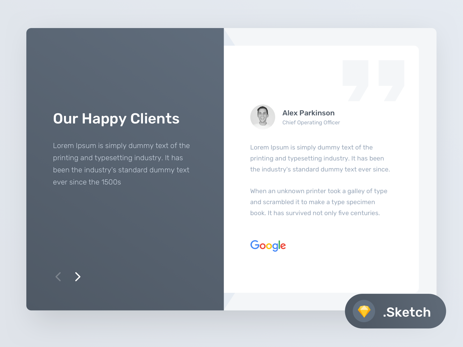 Download Testimonial Layout (Freebie)