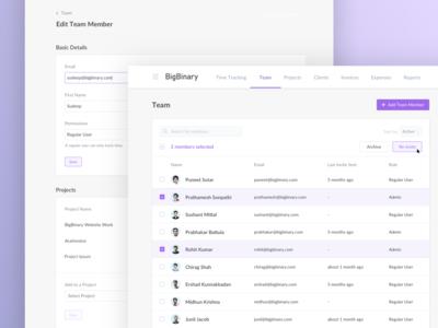 Team List - AceInvoice