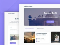 Events in India - Website designs