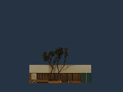 Shopfront   Yulin Alley pixelart pixel voxelart magicavoxel illustration design space architecture building 3d voxel