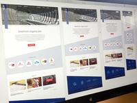 Responsive template homepage