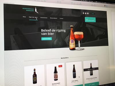 Bourgondische Bierkelder Homepage