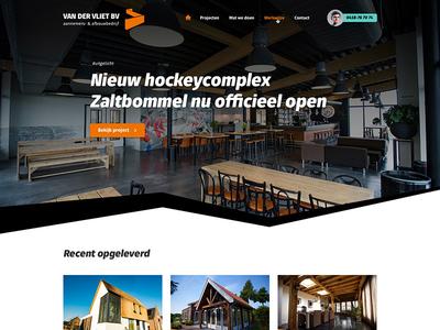 Homepage contruction company